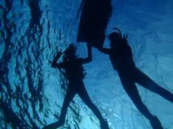 沖縄ダイビング☆初めての洞窟スノーケル♪♪