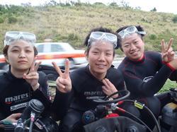 沖縄ダイビング☆ゴリラチョップで体験ダイビング♪